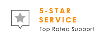 5-Star Service: Top Rated Support