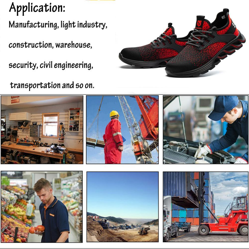 Indestructible Safety Steel Toe Safety Shoes