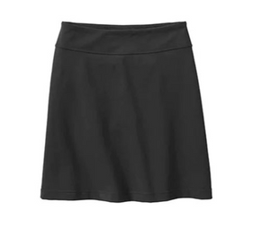 Anti-Chafing Elastic Skort With Hidden Pockets