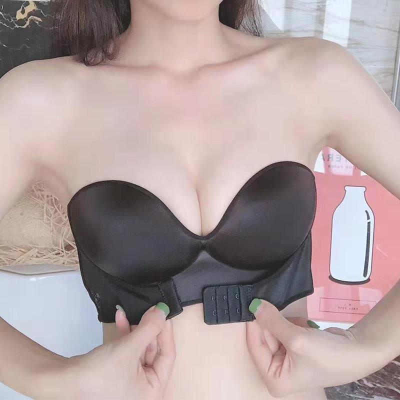 Strapless Front Cleavage Up Bra