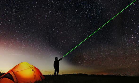 High-Powered Green Laser Pointer