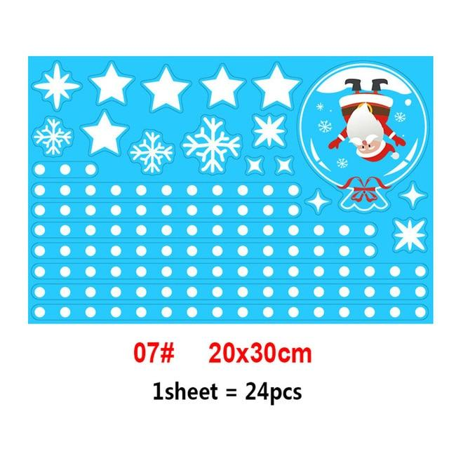 Christmas Window Sticker Decals