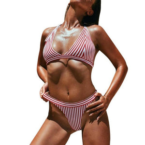 Striped Bikini