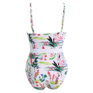 Floral One Piece Swimsuit