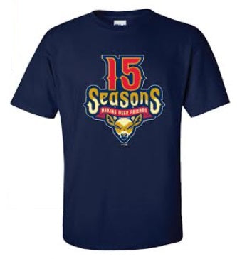 State College Spikes 15th Season T-Shirt