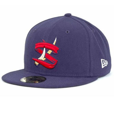 "State College Spikes New Era Official On-Field Home Cap - ""MiLB 59FIFTY"""