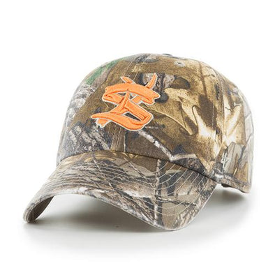 State College Spikes Real Tree Hat with Orange Logo