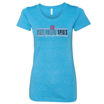 State College Spikes Women's Crew T-Shirt