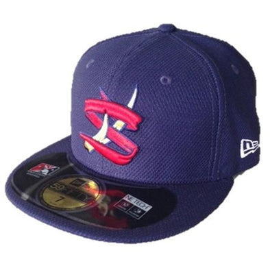"State College Spikes New Era Official On-Field BP Cap - ""MiLB 59FIFTY"""