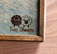 Load image into Gallery viewer, Two Sheeps Wooden Straight Needle Boxes with Logo