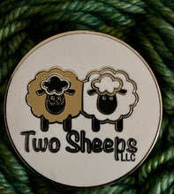 Load image into Gallery viewer, Two Sheeps Enamel Pin