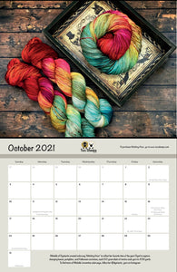 2021 Calendar: A Celebration of Independent Yarn Dyers