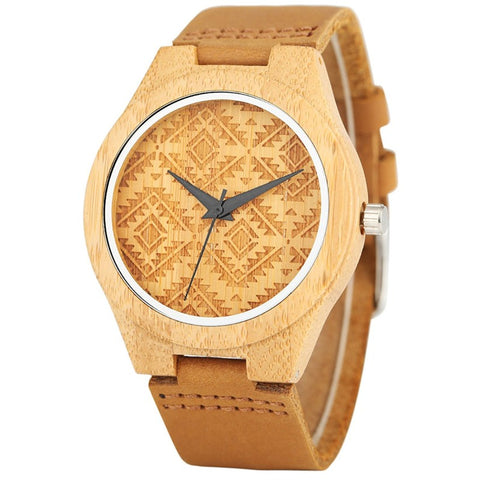 Tribal - Bamboo Wooden Watch