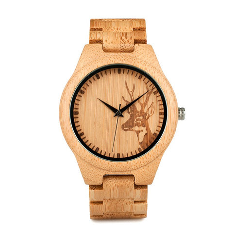 Caribou - Maple Wooden Watch