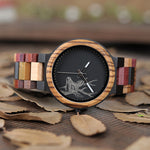 Andean - Mosaic Wooden Watch
