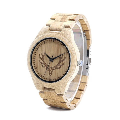 Buck Series - Maple Wooden Watch