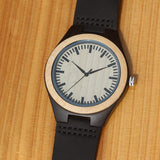 Muramasa Series - Ebony & Maple Wooden Watch
