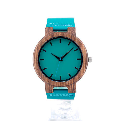Crawford - Zebrawood Wooden Watch