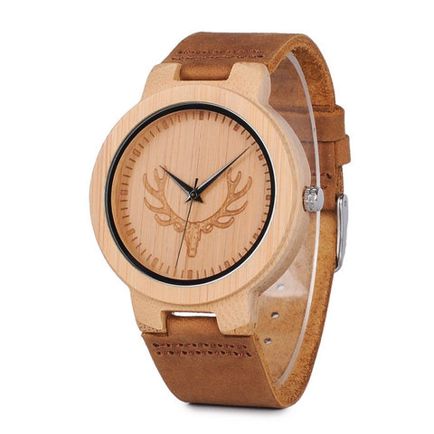 Buck Series - Bamboo Wooden Watch