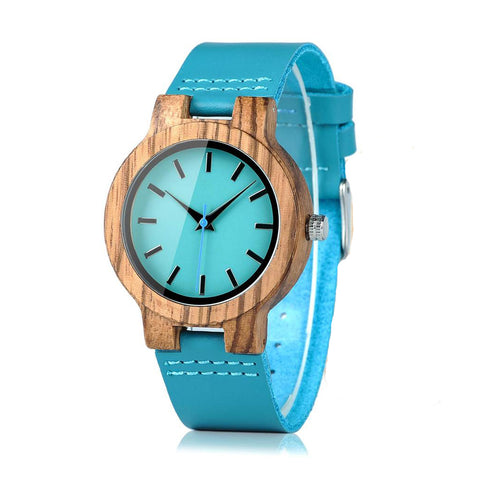 Crawford - Zebrawood Wooden Watch for Women