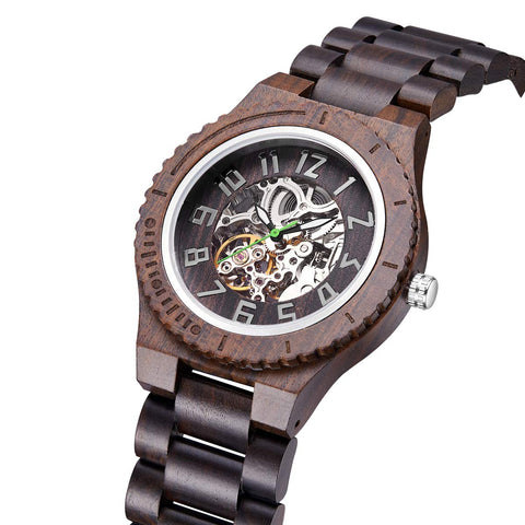 Royal Oak Series - Ebony Walnut Wooden Watch