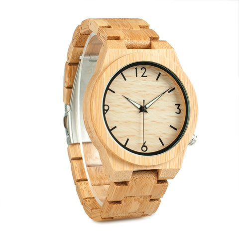 Linden - Maple Wooden Watch