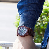 Royal Oak Series - Sandalwood Wooden Watch
