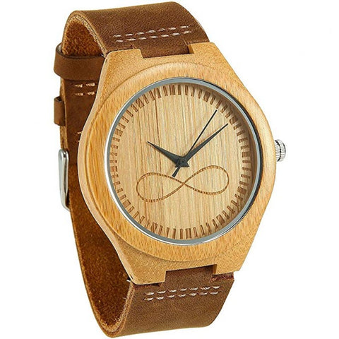 Kylo Series - Bamboo Wooden Watch - Infinity