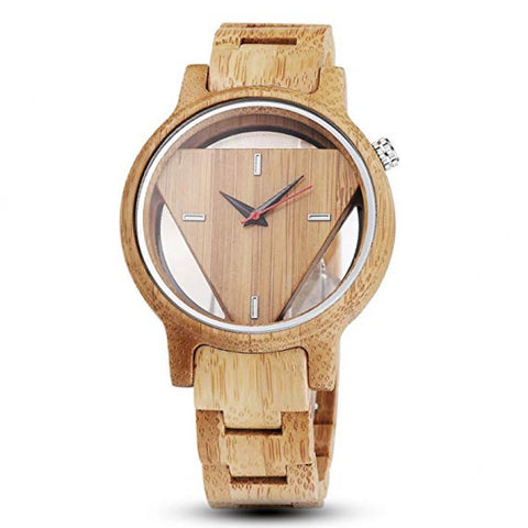 Tristian Series - Maple Triangle Men's Wooden Watch