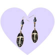 Load image into Gallery viewer, We Wear the Mask Dangle Earrings