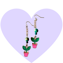 Load image into Gallery viewer, Plant Lady Earrings