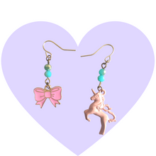 Load image into Gallery viewer, Pretty in Pink Mismatched Earrings