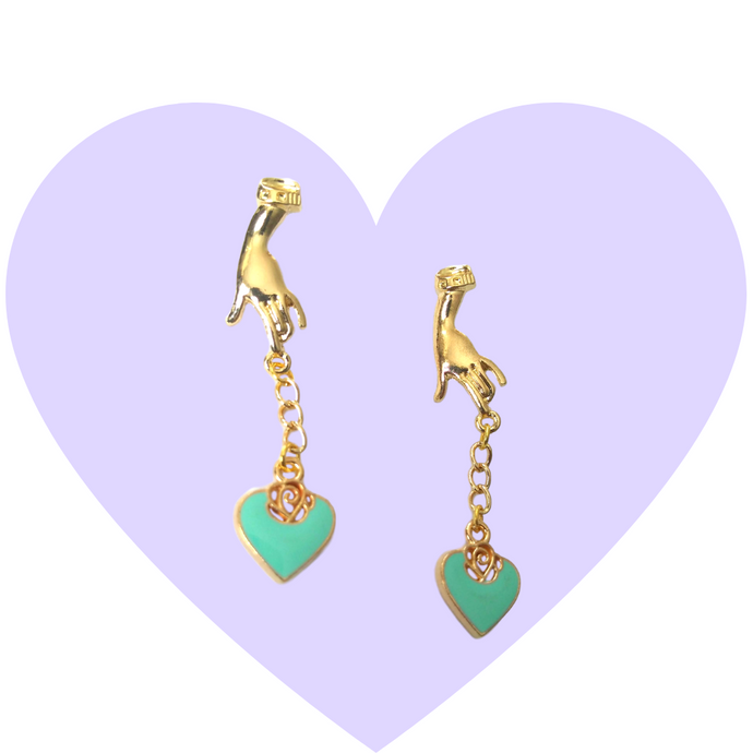Hold On To Your Love Earrings