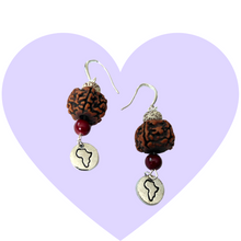Load image into Gallery viewer, Sacred Land Bodhi Seed Earrings