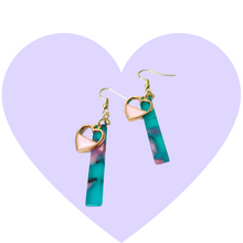 Load image into Gallery viewer, Don't Go Breakin' My Heart 80s Earrings