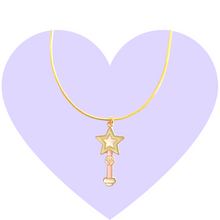 Load image into Gallery viewer, Star Power Wand Necklace
