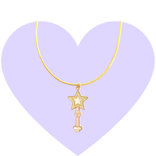 Star Power Wand Necklace