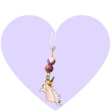 Load image into Gallery viewer, Magical Princess Unicorn Necklace