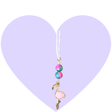 Load image into Gallery viewer, Flamingo Paradise Necklace