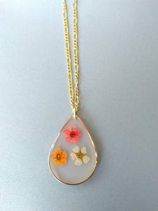 Three Little Flores Necklace