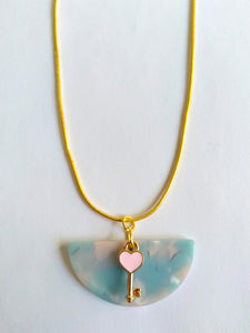 Cotton Candy Love Necklace
