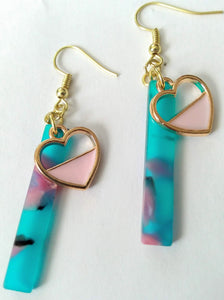 Don't Go Breakin' My Heart 80s Earrings
