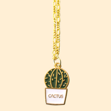 Load image into Gallery viewer, Call Me Cactus Necklace