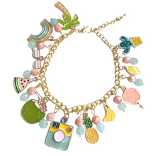 Load image into Gallery viewer, End of Summer Custom Charm Bracelet Giveaway