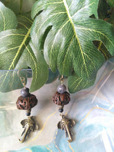 Load image into Gallery viewer, African Elephant Earrings