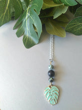Load image into Gallery viewer, Tropical Leaf Necklace