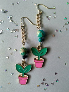 Plant Lady Earrings