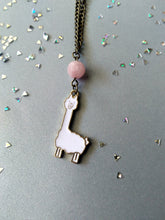 Load image into Gallery viewer, Llama Love Necklace