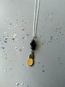Golden Delicious Pineapple Vibes Necklace