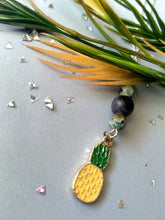 Load image into Gallery viewer, Golden Delicious Pineapple Vibes Necklace